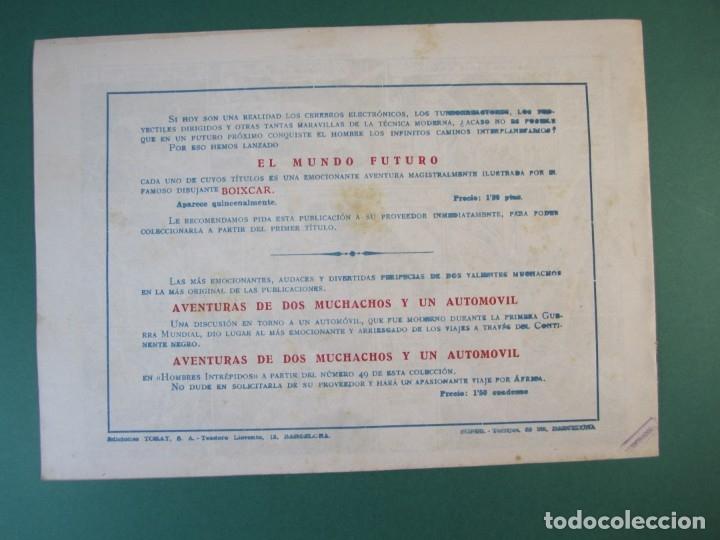 Tebeos: MUNDO FUTURO, EL (1955, TORAY) 18 · 1955 · CAUTIVOS DE JUPITER - Foto 2 - 172774390