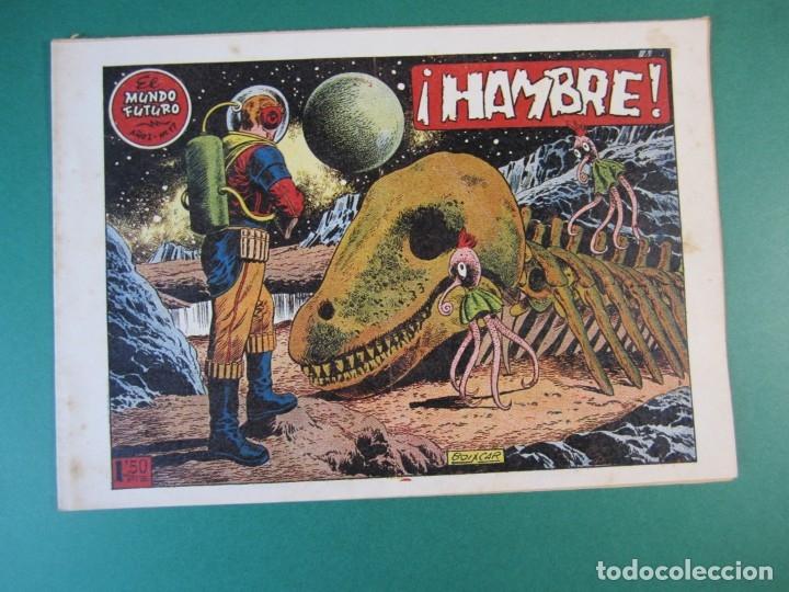 MUNDO FUTURO, EL (1955, TORAY) 17 · 1955 · HAMBRE (Tebeos y Comics - Toray - Mundo Futuro)