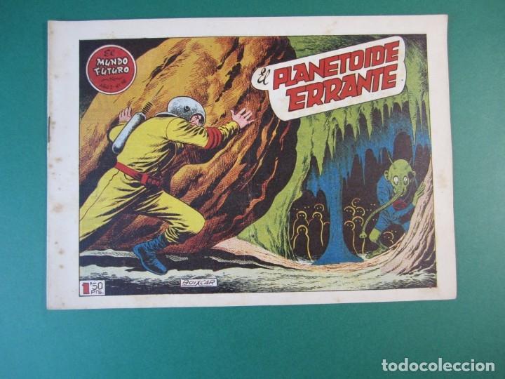 MUNDO FUTURO, EL (1955, TORAY) 16 · 1955 · EL PLANETOIDE ERRANTE (Tebeos y Comics - Toray - Mundo Futuro)