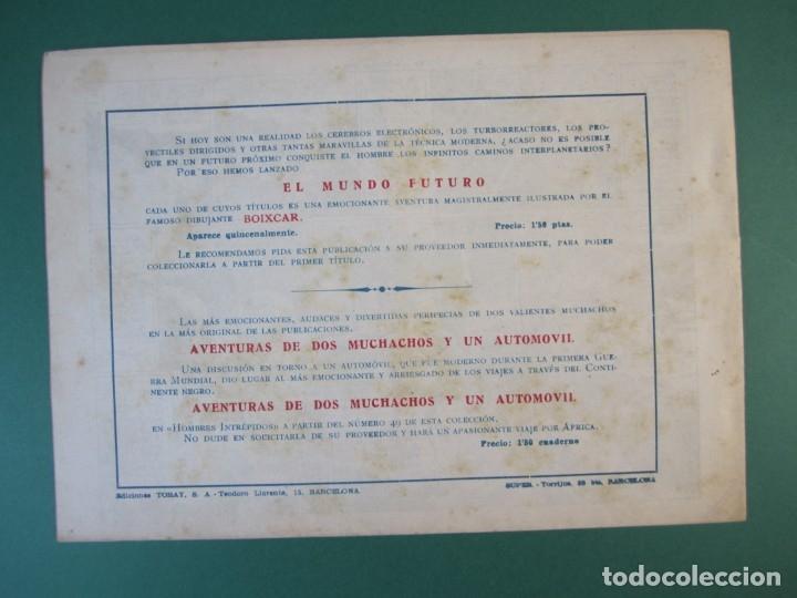Tebeos: MUNDO FUTURO, EL (1955, TORAY) 16 · 1955 · EL PLANETOIDE ERRANTE - Foto 2 - 172775213