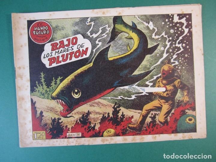 MUNDO FUTURO, EL (1955, TORAY) 15 · 1955 · BAJO LOS MARES DE PLUTON (Tebeos y Comics - Toray - Mundo Futuro)