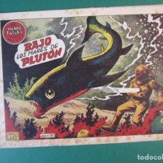 Tebeos: MUNDO FUTURO, EL (1955, TORAY) 15 · 1955 · BAJO LOS MARES DE PLUTON. Lote 172775425