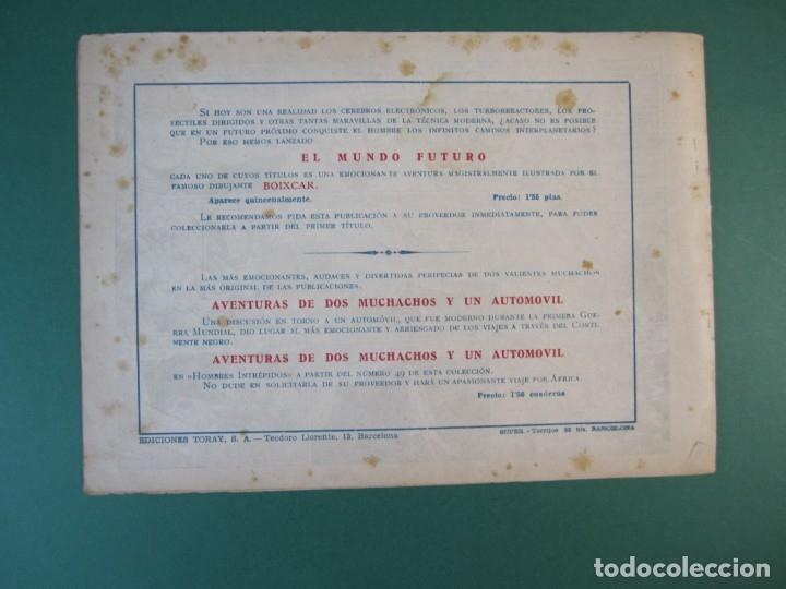 Tebeos: MUNDO FUTURO, EL (1955, TORAY) 15 · 1955 · BAJO LOS MARES DE PLUTON - Foto 2 - 172775425