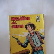 Tebeos: HAZAÑAS DEL OESTE Nº 105 TORAY ORIGINAL. Lote 172775565