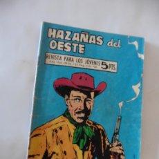 Tebeos: HAZAÑAS DEL OESTE Nº 135 TORAY ORIGINAL. Lote 172776250