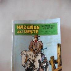 Tebeos: HAZAÑAS DEL OESTE Nº 151 TORAY ORIGINAL. Lote 172776320