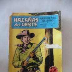 Tebeos: HAZAÑAS DEL OESTE Nº 149 TORAY ORIGINAL. Lote 172776377