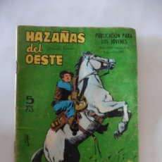 Tebeos: HAZAÑAS DEL OESTE Nº 142 TORAY ORIGINAL. Lote 172776559
