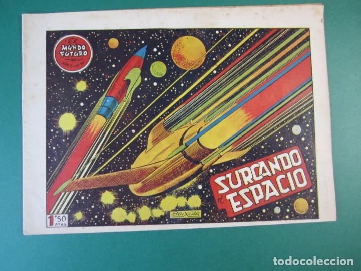 MUNDO FUTURO, EL (1955, TORAY) 14 · 1955 · SURCANDO EL ESPACIO (Tebeos y Comics - Toray - Mundo Futuro)