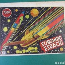 Tebeos: MUNDO FUTURO, EL (1955, TORAY) 14 · 1955 · SURCANDO EL ESPACIO. Lote 172777372