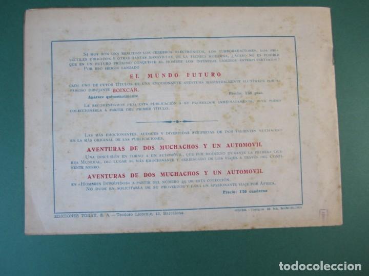 Tebeos: MUNDO FUTURO, EL (1955, TORAY) 14 · 1955 · SURCANDO EL ESPACIO - Foto 2 - 172777372