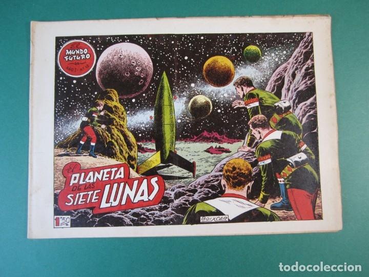 MUNDO FUTURO, EL (1955, TORAY) 12 · 1955 · EL PLANETA DE LAS SIETE LUNAS (Tebeos y Comics - Toray - Mundo Futuro)