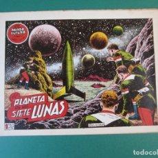 Tebeos: MUNDO FUTURO, EL (1955, TORAY) 12 · 1955 · EL PLANETA DE LAS SIETE LUNAS. Lote 172777999