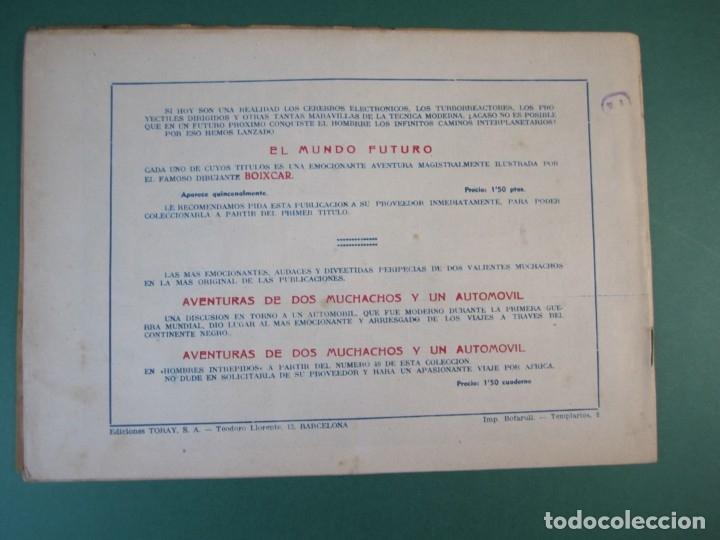 Tebeos: MUNDO FUTURO, EL (1955, TORAY) 12 · 1955 · EL PLANETA DE LAS SIETE LUNAS - Foto 2 - 172777999
