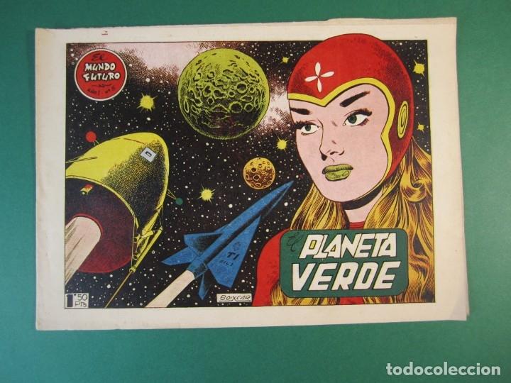 MUNDO FUTURO, EL (1955, TORAY) 5 · 1955 · EL PLANETA VERDE (Tebeos y Comics - Toray - Mundo Futuro)