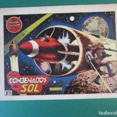 Tebeos: MUNDO FUTURO, EL (1955, TORAY) 2 · 1955 · LOS CONDENADOS AL SOL. Lote 172798812