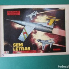 Tebeos: HAZAÑAS BELICAS (1950, TORAY) -2ª- 208 · 30-V-1958 · SEIS LETRAS. Lote 261693825