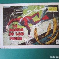 Tebeos: HAZAÑAS BELICAS (1950, TORAY) -2ª- 250 · 8-I-1960 · LA DANZA DE LOS PECES. Lote 261694010
