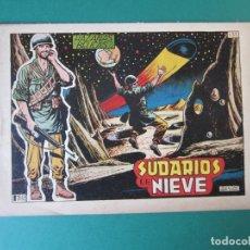 Tebeos: HAZAÑAS BELICAS (1950, TORAY) -2ª- 135 · 12-VIII-1955 · SUDARIOS DE NIEVE. Lote 172887765