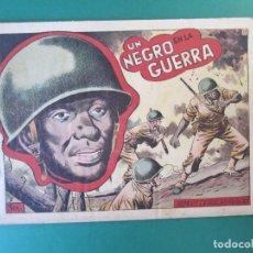 Tebeos: HAZAÑAS BELICAS (1950, TORAY) -2ª- 73 · 27-III-1953 · EXTRAORDINARIO - UN NEGRO EN LA GUERRA. Lote 172896942