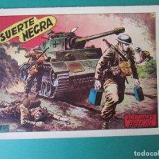 Giornalini: HAZAÑAS BELICAS (1950, TORAY) -2ª- 67 · 2-I-1953 · SUERTE NEGRA. Lote 172919972