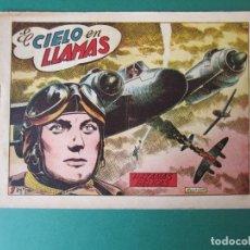 Giornalini: HAZAÑAS BELICAS (1950, TORAY) -2ª- 69 · 30-I-1953 · EL CIELO EN LLAMAS. Lote 172919997