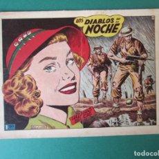 Giornalini: HAZAÑAS BELICAS (1950, TORAY) -2ª- 64 · 21-XI-1952 · LOS DIABLOS DE LA NOCHE. Lote 172920120
