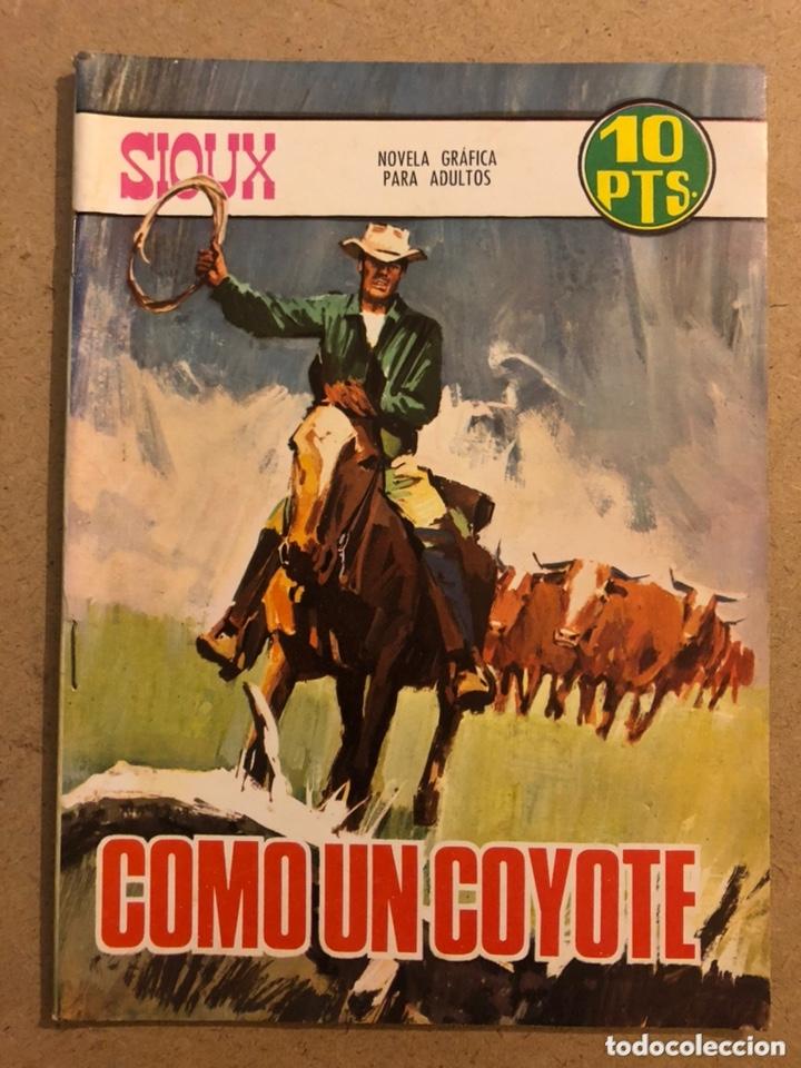 SOUX N° 94 COMO UN COYOTE. EDICIONES TORAY 1967. NOVELA GRÁFICA PARA ADULTOS. (Tebeos y Comics - Toray - Sioux)
