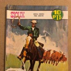 Tebeos: SOUX N° 94 COMO UN COYOTE. EDICIONES TORAY 1967. NOVELA GRÁFICA PARA ADULTOS.. Lote 173099342