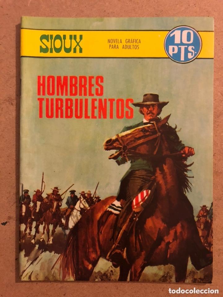 SIUX N° 91 HOMBRES TURBULENTOS. EDICIONES TORAY 1967. PUBLICACIÓN PARA LOS JÓVENES. (Tebeos y Comics - Toray - Sioux)