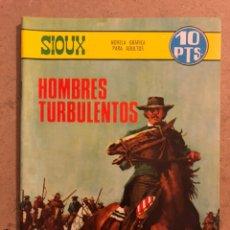 Tebeos: SIUX N° 91 HOMBRES TURBULENTOS. EDICIONES TORAY 1967. PUBLICACIÓN PARA LOS JÓVENES.. Lote 173099734