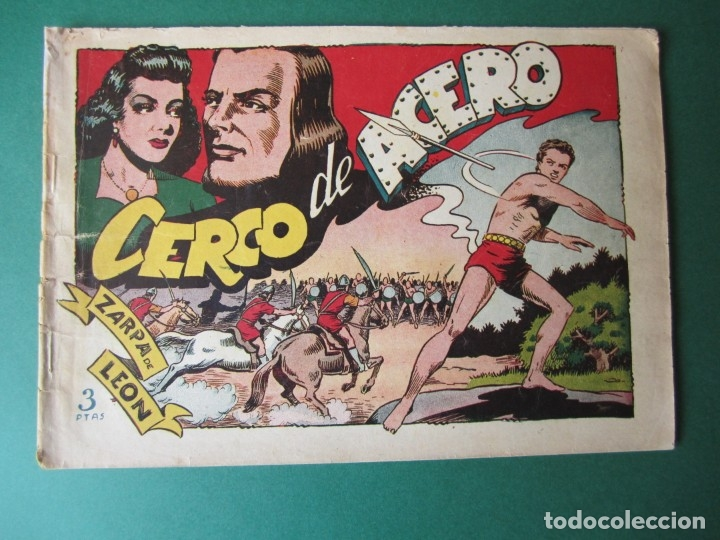 ZARPA DE LEON (1951, TORAY) 15 · 1951 · CERCO DE ACERO (Tebeos y Comics - Toray - Zarpa de León)