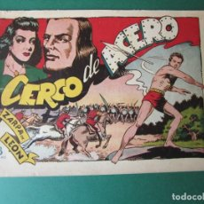 Tebeos: ZARPA DE LEON (1951, TORAY) 15 · 1951 · CERCO DE ACERO. Lote 173246977