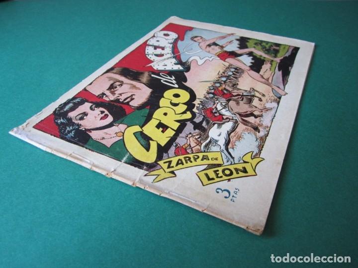 Tebeos: ZARPA DE LEON (1951, TORAY) 15 · 1951 · CERCO DE ACERO - Foto 3 - 173246977