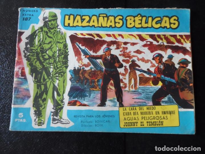 HAZAÑAS BÉLICAS SERIE AZUL Nº 187 EDICIONES TORAY (Tebeos y Comics - Toray - Hazañas Bélicas)
