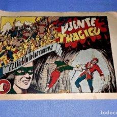 BDs: PUENTE TRAGICO EL DIABLO DE LOS MARES EDIT. TORAY AÑOS 40 ORIGINAL VER FOTO Y DESCRIPCION. Lote 173397000