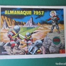Tebeos: MUNDO FUTURO, EL (1955, TORAY) EXTRA 2 · XII-1956 · ALMANAQUE 1957. Lote 173407265