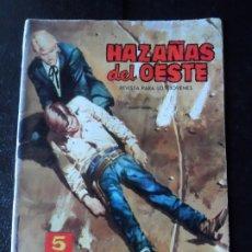 BDs: HAZAÑAS DEL OESTE Nº 67 EDITORIAL TORAY . Lote 173410399
