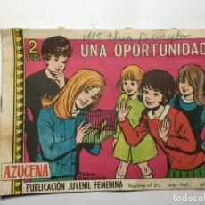 Tebeos: COMIC UNA OPORTUNIDAD - AZUCENA Nº 1016. Lote 173418857