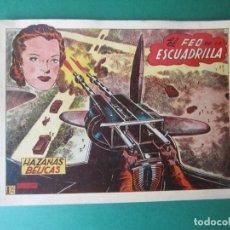 Giornalini: HAZAÑAS BELICAS (1950, TORAY) -2ª- 44 · 4-I-1952 · EL FEO DE LA ESCUADRILLA. Lote 173420229