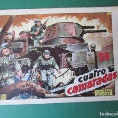 Giornalini: HAZAÑAS BELICAS (1950, TORAY) -2ª- 112 · 24-IX-1954 · CUATRO CAMARADAS. Lote 173432005