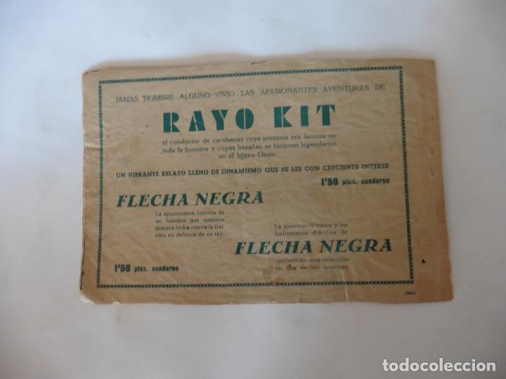Tebeos: EL SILENCIOSO - HACIA NUEVAS AVENTURAS TORAY ORIGINAL - Foto 4 - 173441829