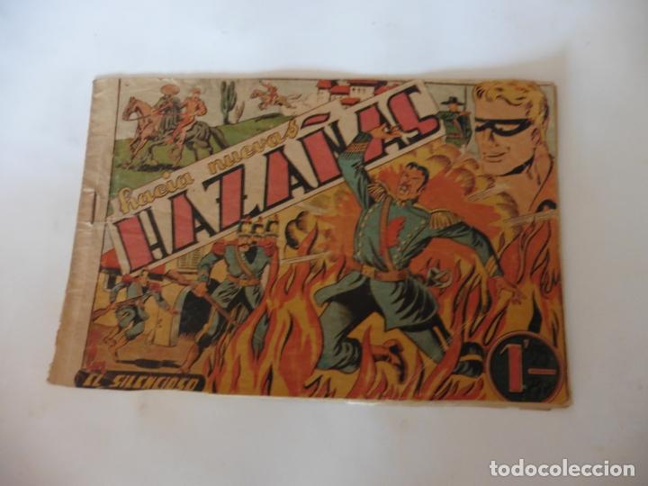 EL SILENCIOSO - HACIA NUEVAS AVENTURAS TORAY ORIGINAL (Tebeos y Comics - Toray - Otros)