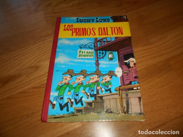 LUCKY LUKE. LOS PRIMOS DALTON. LOMO DE TELA . EDICIONES TORAY 1969-2ª EDICION. (Tebeos y Comics - Toray - Otros)