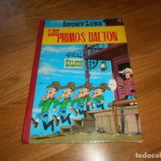 Tebeos: LUCKY LUKE. LOS PRIMOS DALTON. LOMO DE TELA . EDICIONES TORAY 1969-2ª EDICION.. Lote 173444229