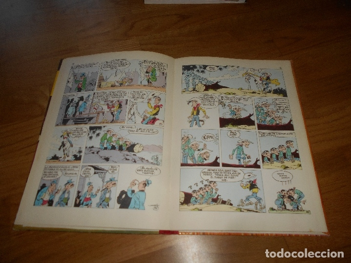 Tebeos: LUCKY LUKE. LOS PRIMOS DALTON. LOMO DE TELA . EDICIONES TORAY 1969-2ª EDICION. - Foto 4 - 173444229