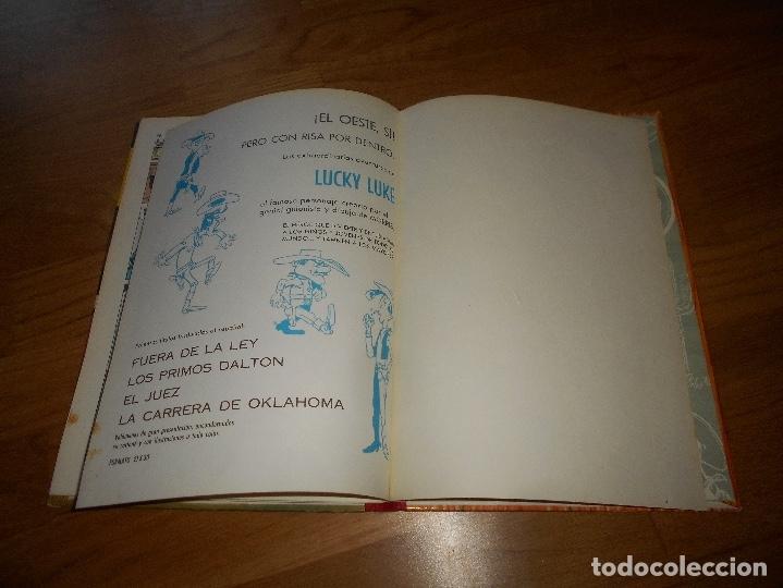 Tebeos: LUCKY LUKE. LOS PRIMOS DALTON. LOMO DE TELA . EDICIONES TORAY 1969-2ª EDICION. - Foto 6 - 173444229