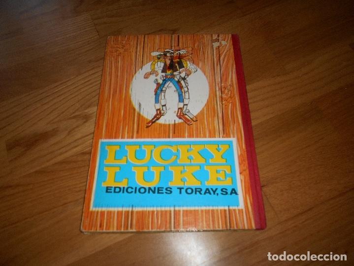 Tebeos: LUCKY LUKE. LOS PRIMOS DALTON. LOMO DE TELA . EDICIONES TORAY 1969-2ª EDICION. - Foto 7 - 173444229