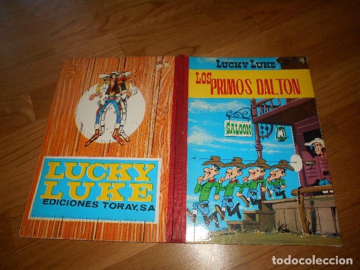 Tebeos: LUCKY LUKE. LOS PRIMOS DALTON. LOMO DE TELA . EDICIONES TORAY 1969-2ª EDICION. - Foto 8 - 173444229