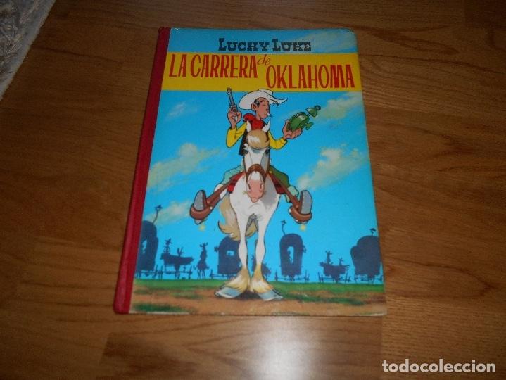 LUCKY LUKE. LA CARRERA DE OKLAHOMA. SEGUNDA EDICIÓN. 1969. TORAY. (Tebeos y Comics - Toray - Otros)